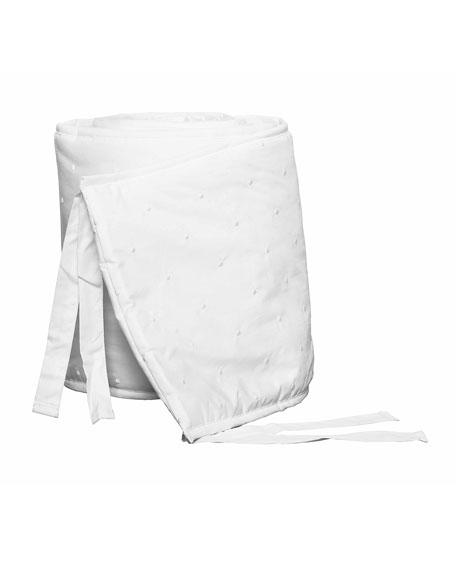 Amparo Crib Bumper, White