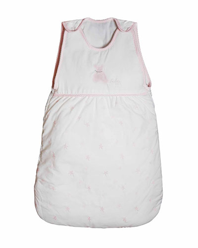 Twinkle Quilted Sleeping Bag  White/Pink
