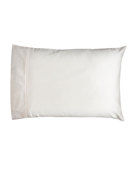 Estate Pair of Standard Pillowcases, Ivory/Ivory