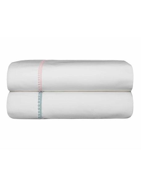 Bovi Fine Linens Bitsy Dots King Sheet Set,