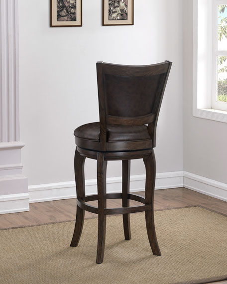 Andrew Leather Bar Stool