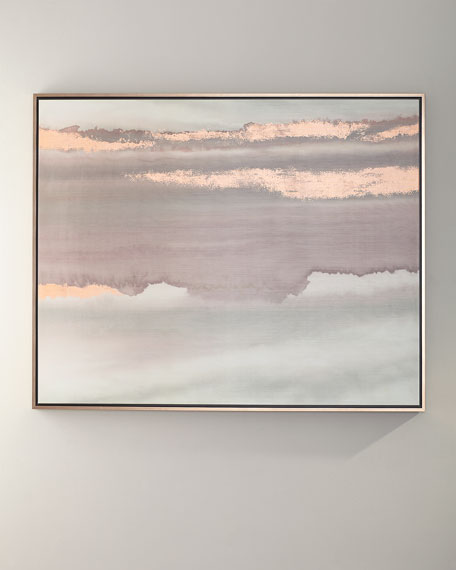 """Horizon Rosewater I"" Wall Art"