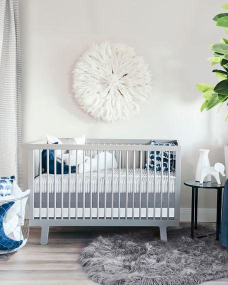 Elephant Jersey Standard Crib Sheet