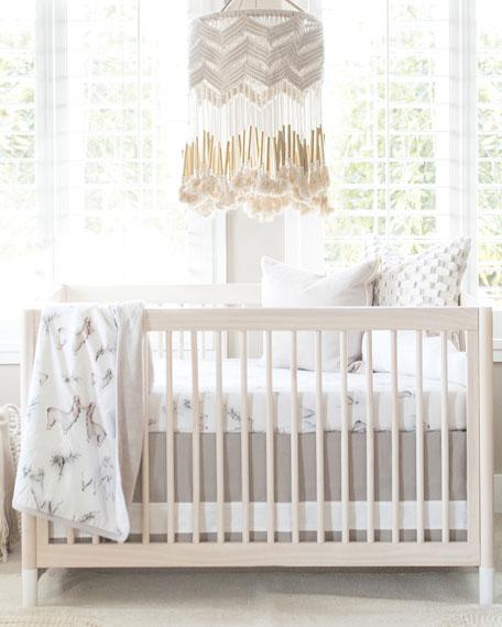 Llama Jersey Crib Sheet