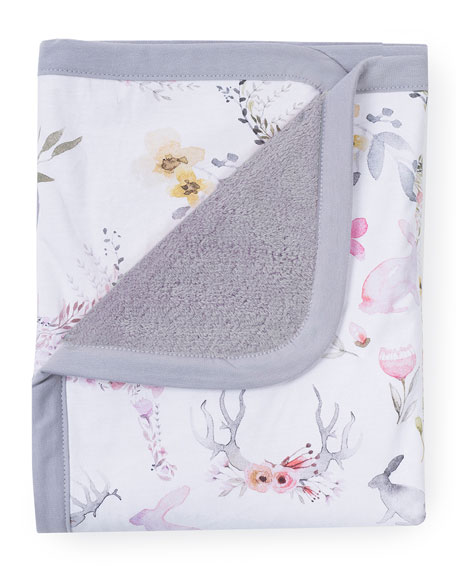 Fawn Jersey Cuddle Blanket