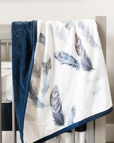 Featherly Jersey Cuddle Blanket