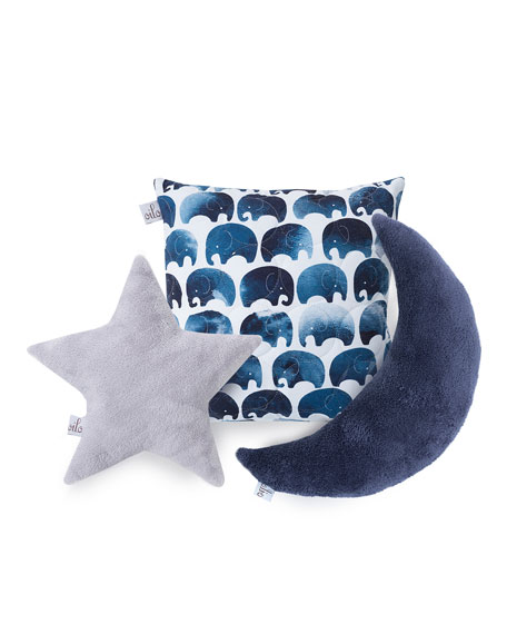 Elephant Quilted Pillow
