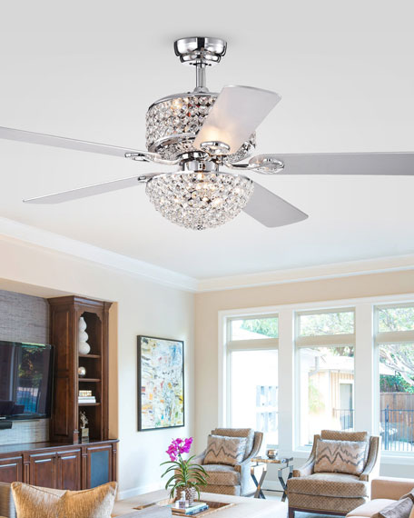 Home Accessories Two-Tier Prismatic Crystal Chandelier Ceiling