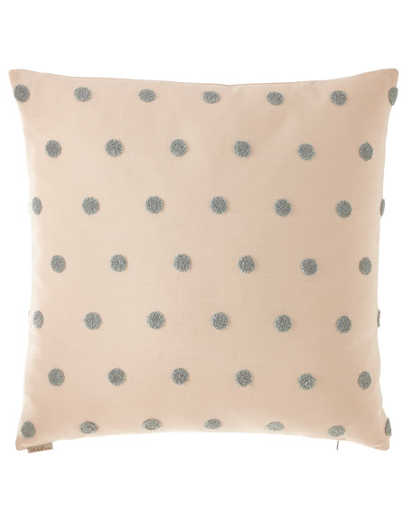 D.V. Kap Home Puff Dotty Pillow