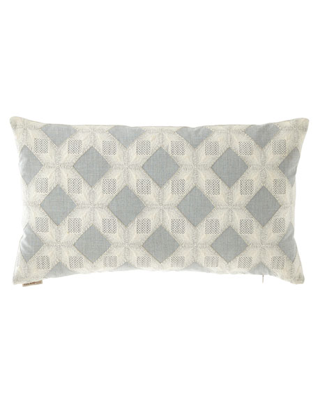 Linear Lace Pillow