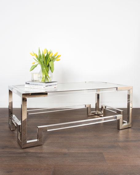 Shanna Acrylic Coffee Table