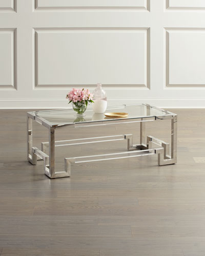 Marble Amp Mirrored Coffee Tables At Neiman Marcus Horchow