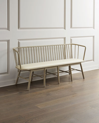 Groovy Designer Benches At Horchow Ibusinesslaw Wood Chair Design Ideas Ibusinesslaworg