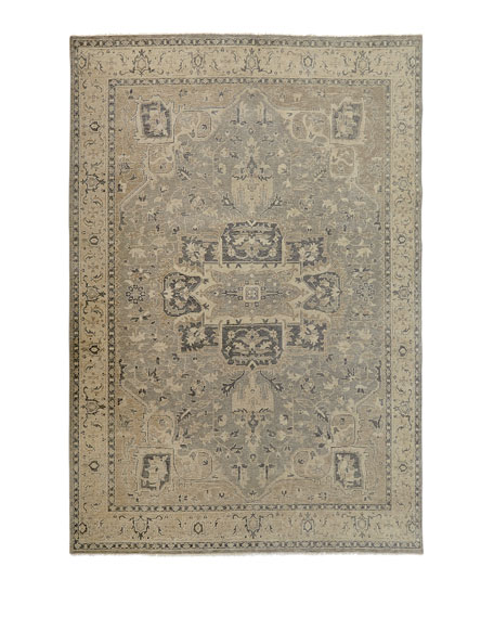 """Bishop Hand-Knotted Rug, 5'6"""" x 8'6"""""""
