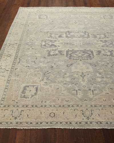 Bishop Hand-Knotted Rug  5'6 x 8'6