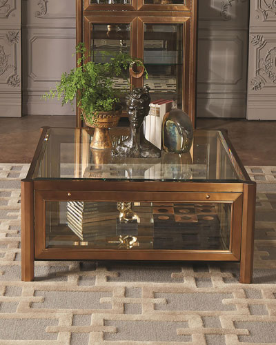 Marble Glass Top Coffee Table: Marble & Mirrored Coffee Tables At Neiman Marcus Horchow