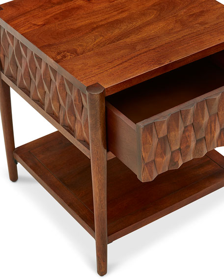 Kerf Side Table