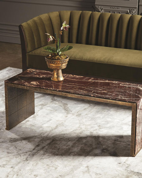Waterfall Marble Coffee Table