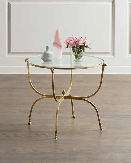 Global Views Golden Fleece Side Table