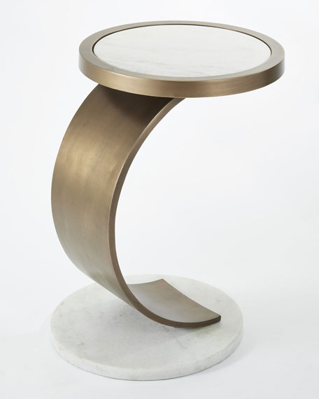 Amida Curved Accent Table
