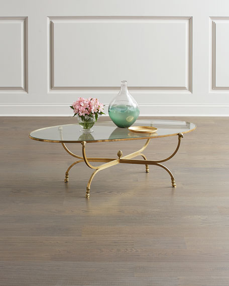 Global Views Golden Fleece Coffee Table