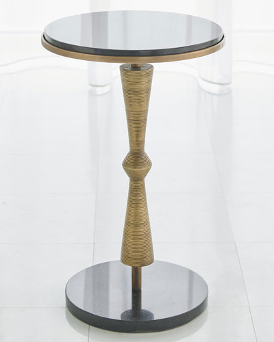 Marble & Mirrored Coffee Tables At Neiman Marcus Horchow