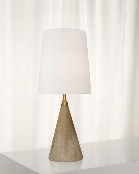Concrete Mini Cone Table Lamp