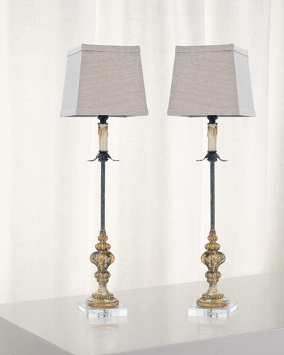 Florence Buffet Table Lamps  Set of 2