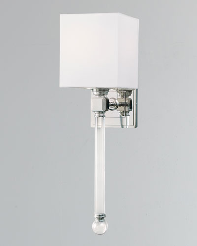 Crystal Tail Sconce