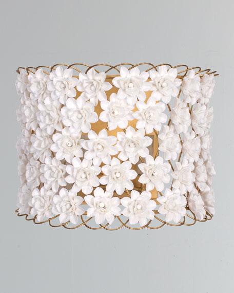 Alice Porcelain Flower Sconce