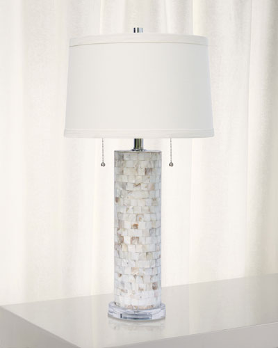 Deva Mother-of-Pearl Table Lamp