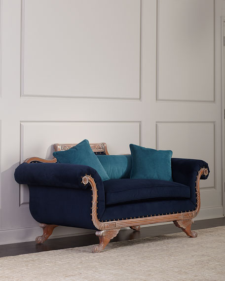 Old Hickory Tannery Ambrey Settee