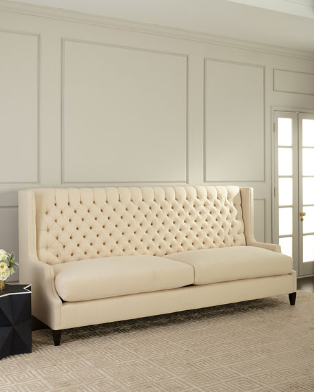 Old Hickory Tannery Justeen Sofa, 107