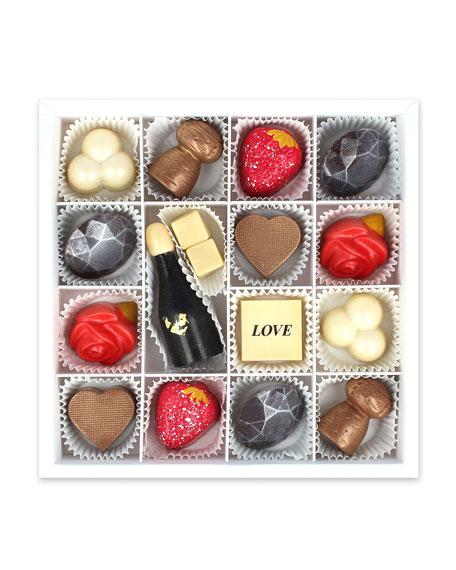 Lovestruck 16-Piece Chocolate Gift Box