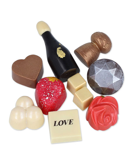 Love Story 9-Piece Chocolate Gift Box