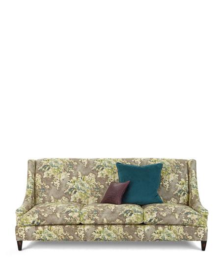 "Tamika Floral Sofa, 88.5"""