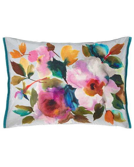 Surimono Berry Decorative Pillow