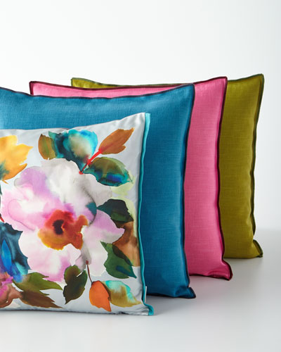Surimono Berry Decorative Pillow