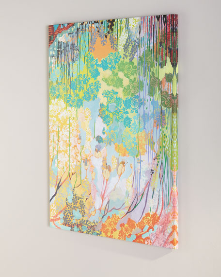 Multicolored Floral Wall Art