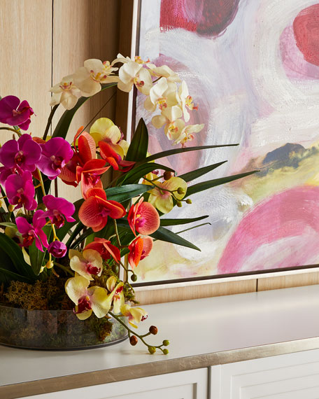 Atrium Orchids Arrangement