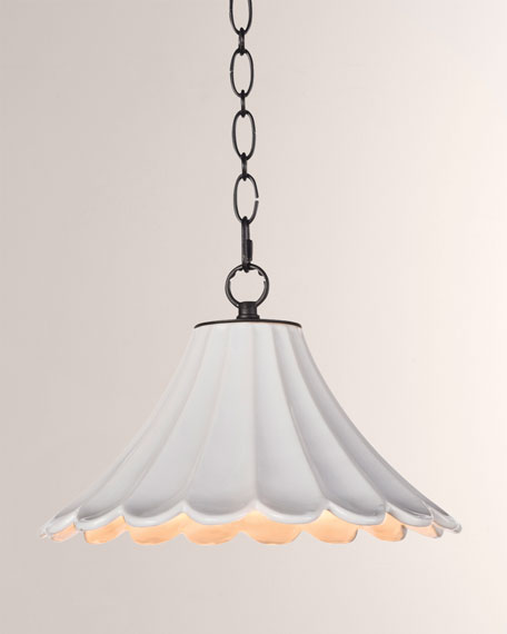 Regina Andrew Design Cally Ceramic Small Lighting Pendant