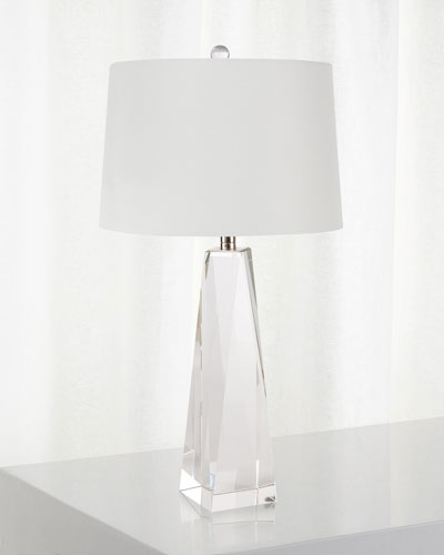 Angelica Crystal Small Table Lamp