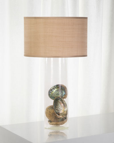 Palmetto Glass Table Lamp