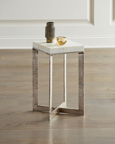 Lenore Marble Top Martini Table