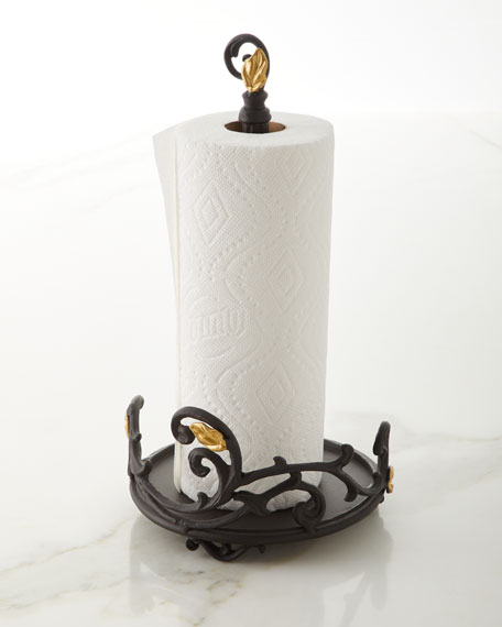 G G Collection Gold Leaf Paper Towel Roll