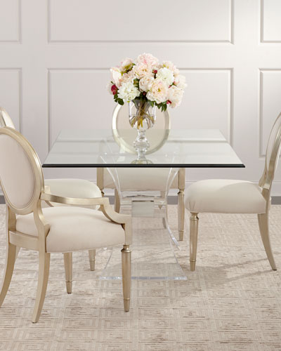 Victoria Acrylic Dining Table