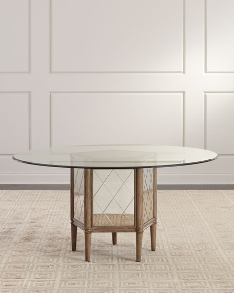 Alisa Round Pedestal Dining Table