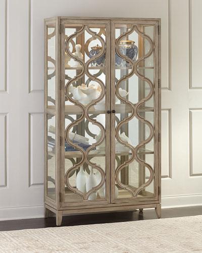 Cadmus Glass Curio Cabinet