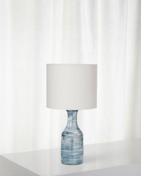 Bungalow Table Lamp, Blue