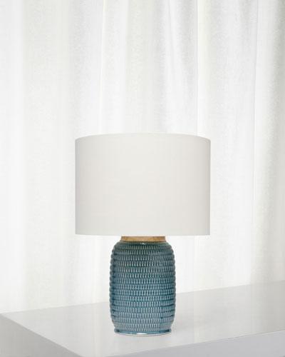 Graham Table Lamp  Blue